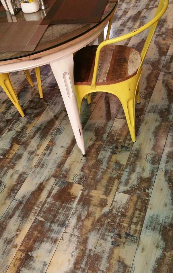 Восстановление деревянного пола
