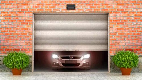 Покраска гаража
