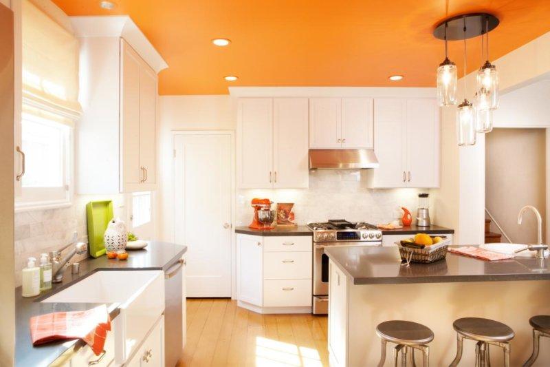 Покраска кухни