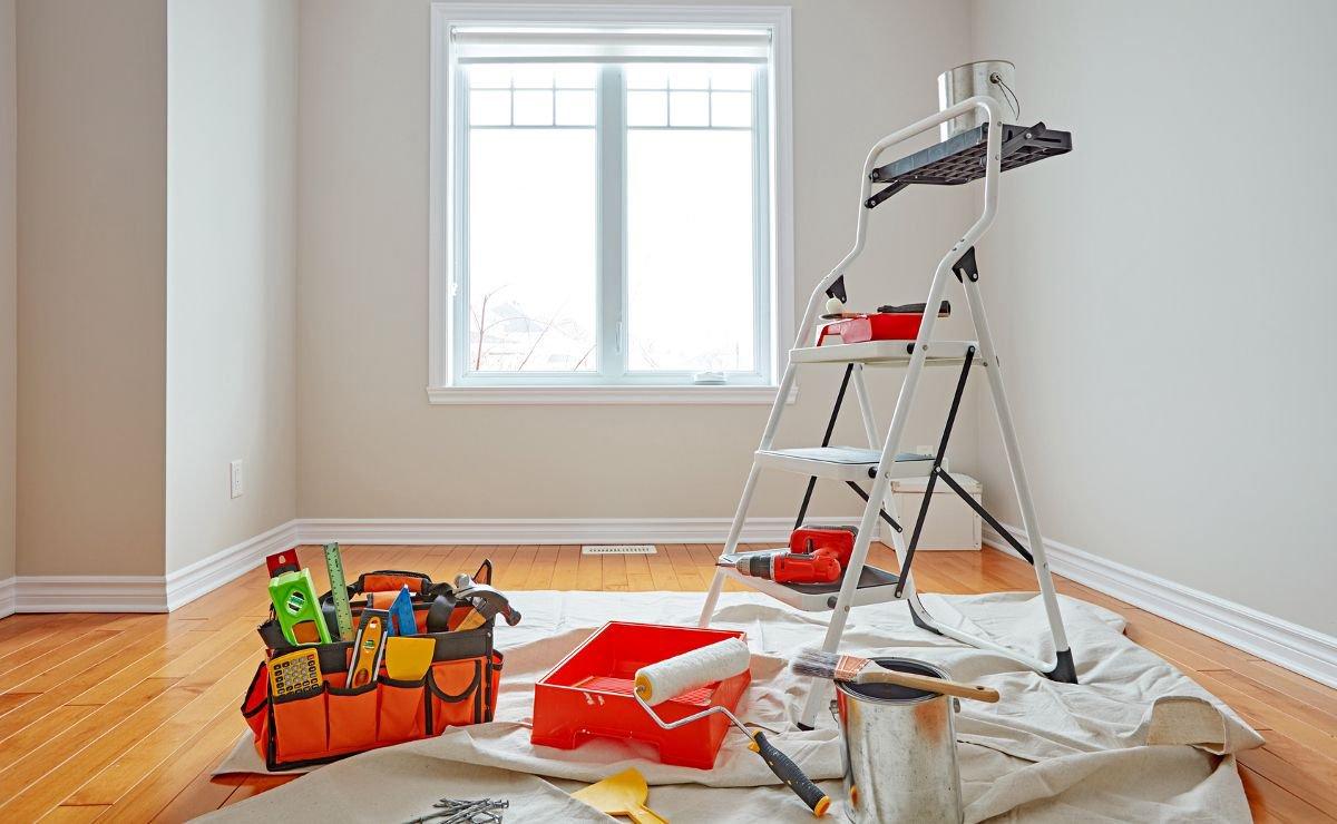 Как убрать краску после ремонта