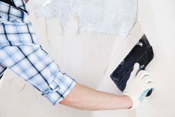 Шпаклевка бетонных стен под покраску