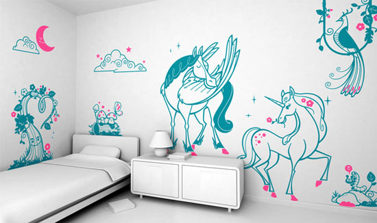 из чего сделать трафарет для покраски стен