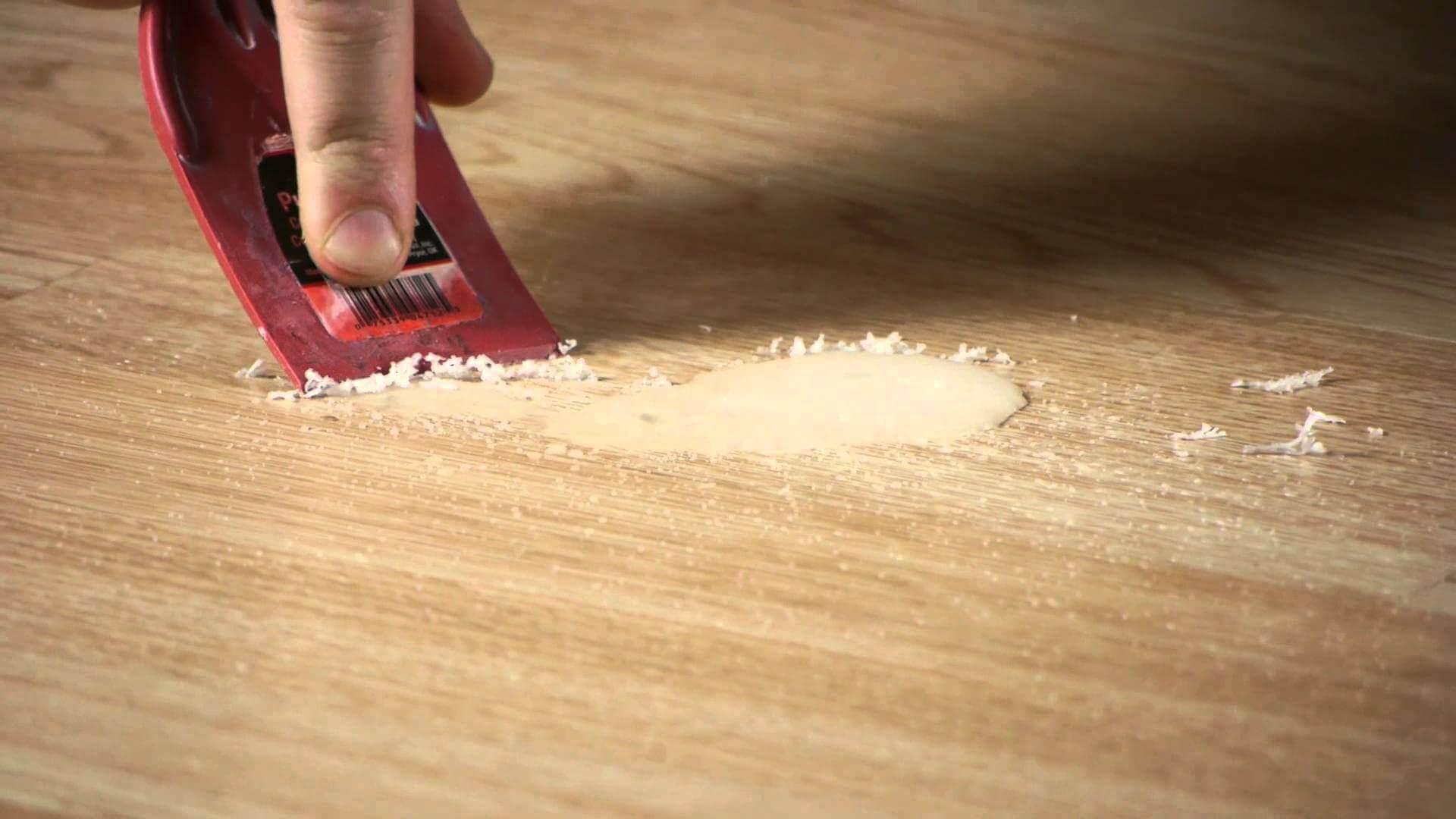 Как очистить монтажную пену с линолеума