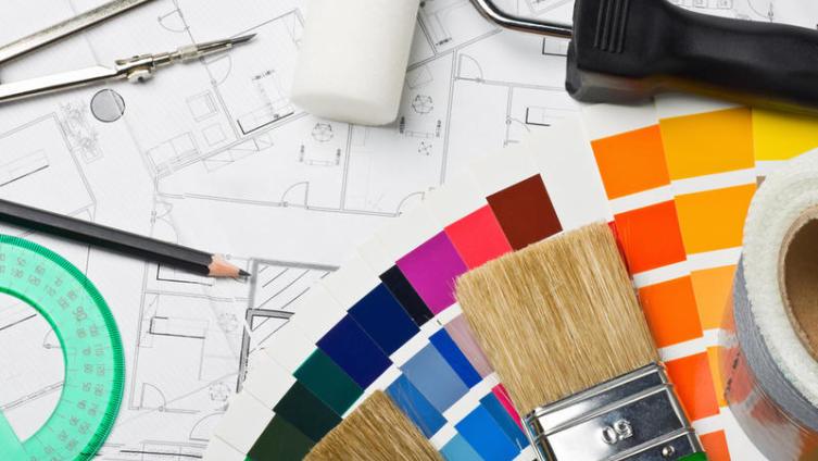 Как сменить цвет стен