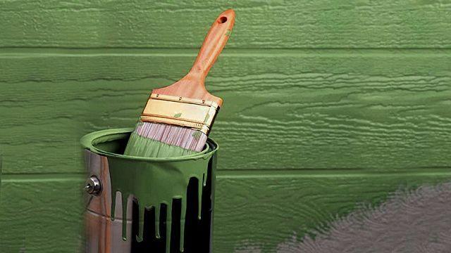 фасадная краска для наружных работ цвета