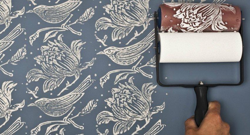 валики для покраски стен