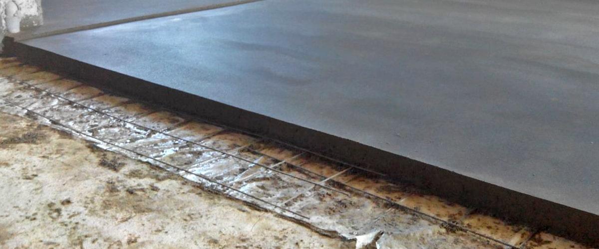 Цементная стяжка пола