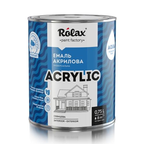 Эмаль акриловая универсальная водно-дисперсионная «ACRYLIC»